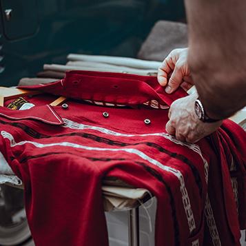 creazione sito web per lavanderie camicia rossa Italy wm