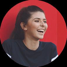 Creazione sito web per palestre ragazza felice italy web marketing