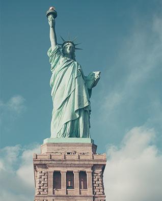 Creazione sito web alberghi b&b Hotel usa statua della libertà italy web marketing