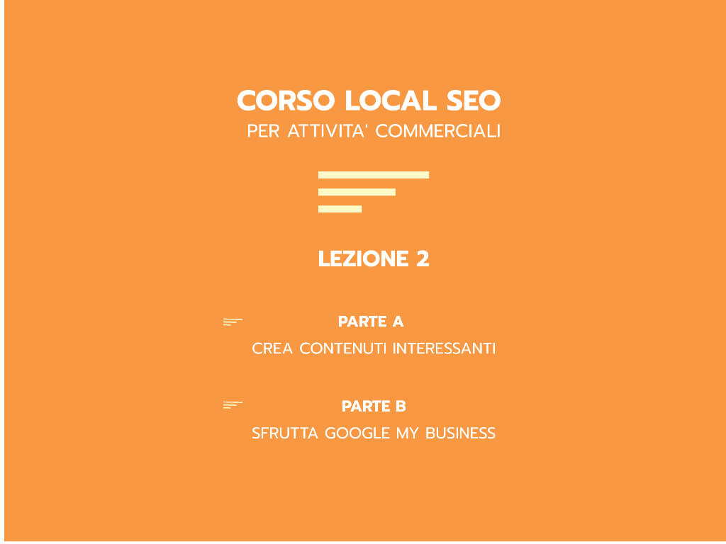 Corso Local Seo 2020 parte B - Italy Web Marketing