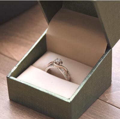 Creazione sito web per gioiellerie anello