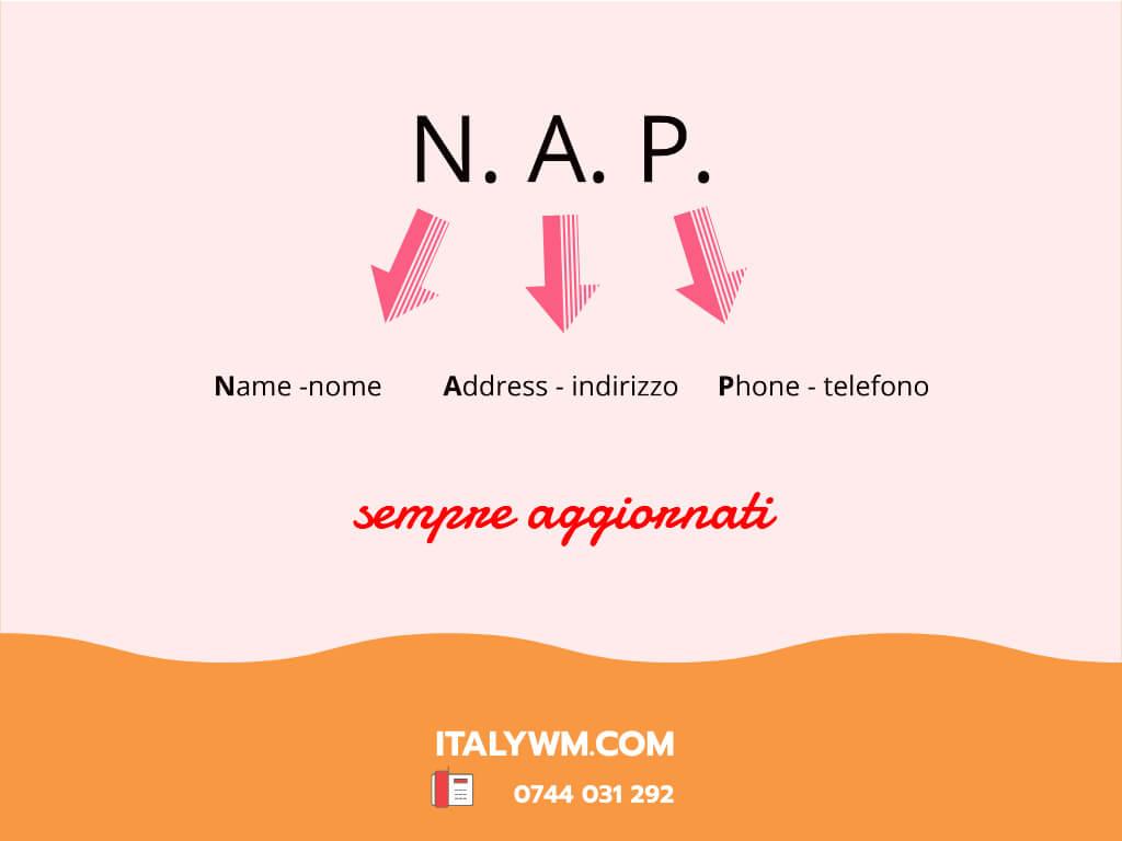 Nap Name Address Phone Nome Indirizzo Telefono Attività Locale - Italy Web Marketing