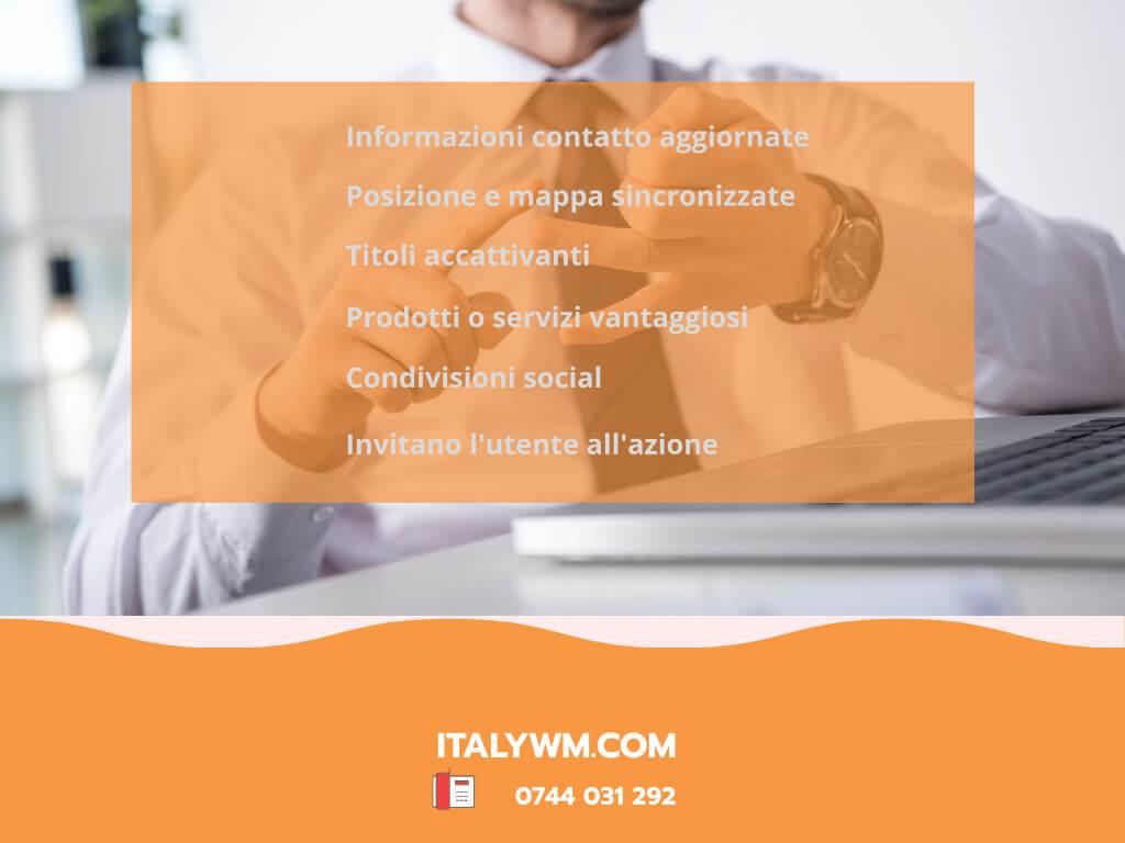 Punti essenziali per un posizionamento locale Italy Web Marketing