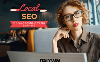 SEO Locale – Prova a farne a meno – Lezione 2