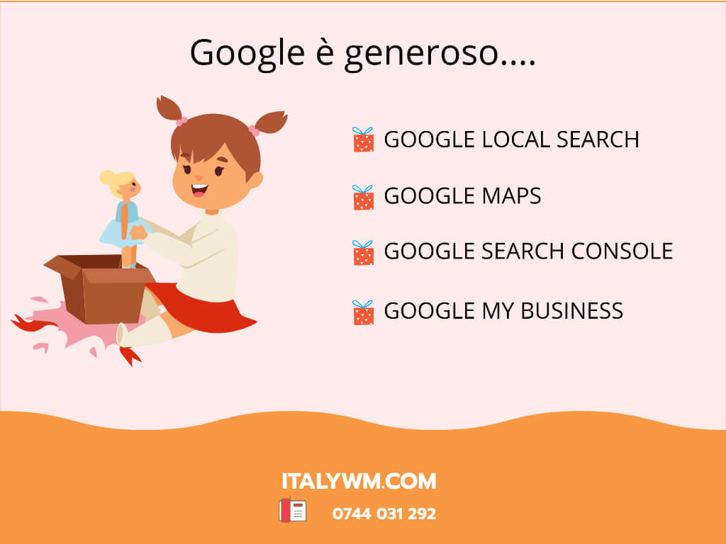 Strumenti gratuiti di Google - Italy Web Marketing