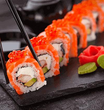 Sushi giapponese Creazione sito web blog cucina