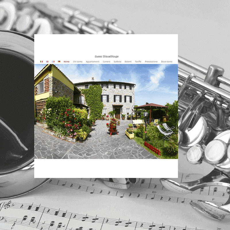 Lucca stone house restyling sito internet Italy Web Marketing