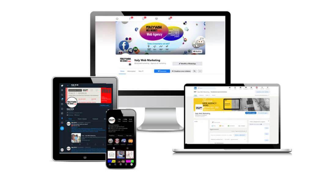 social italy web marketing