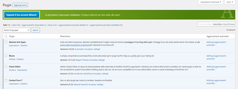 Plugin WordPress Italy Web Marketing